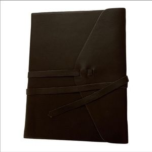 INDIGO Leather Wrap Journal Lined Notebook NWT